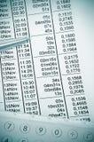 Telefonrechnung Stockfotografie
