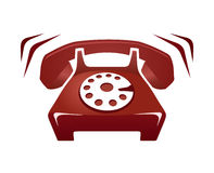 telefonringning Royaltyfri Bild