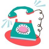 telefonringning Royaltyfri Fotografi