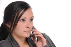 telefonsamtal royaltyfri bild