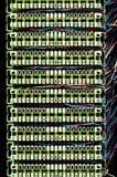 TelefonSchalttafeln. Stockfotografie