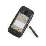 Telefonschraubenzieher-Reparaturtelefon Lizenzfreie Stockfotografie