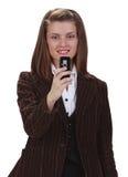 telefonskytte Royaltyfri Bild