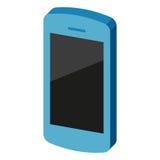 Telefonsymbol också vektor för coreldrawillustration Royaltyfria Foton