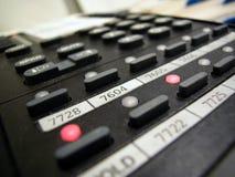 Telefontastatur Stockfoto