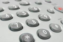 Telefontastaturblock stockfotos