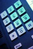 Telefontastaturblock Lizenzfreie Stockfotos