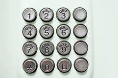 Telefontaste Lizenzfreie Stockbilder