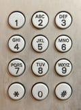 Telefontasten Lizenzfreies Stockfoto