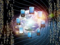 telefonu świat Obraz Stock