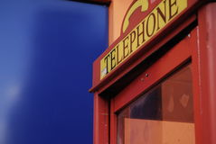 Telefonu pudełko Obrazy Royalty Free