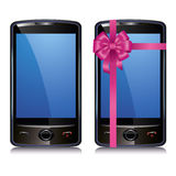 telefonu dotyk parawanowy ustalony mądrze dwa Zdjęcie Stock