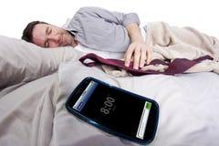 Telefonu Komórkowego budzik obraz stock