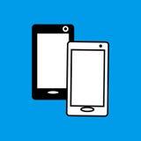 Telefonu komórkowego mieszkania ikona Obrazy Royalty Free