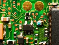 Telefonu komórkowego układ scalony, makro- Obrazy Stock