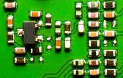 Telefonu komórkowego układ scalony, makro- Zdjęcie Royalty Free