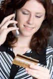 telefonu kupujący zdjęcie royalty free