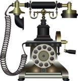 telefonu rocznik Obraz Royalty Free