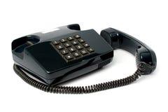 Telefonu set czarny kolor obrazy royalty free