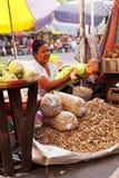 -Telefonverkehr in Rangun Stockfoto