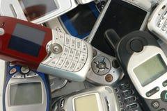 telefony komórkowe. Zdjęcie Stock