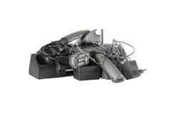 Telefony radio i modem zdjęcia stock