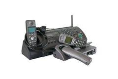 Telefony radio i modem fotografia royalty free