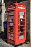 Telefonzelle in Chinatown Lizenzfreies Stockbild
