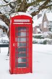 Telefonzelle in Großbritannien Lizenzfreies Stockfoto