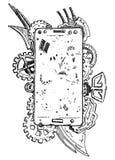 Telefonzusammenfassung Lizenzfreies Stockbild