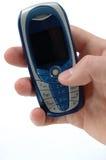 Telefoon in een hand Stock Fotografie