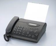 Telefoon/faxapparaat Stock Afbeeldingen