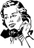Telefoon Gal 2 royalty-vrije illustratie