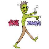 Telefoon Gewijde Zombie Royalty-vrije Stock Foto