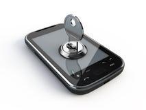 Telefoon met sleutel