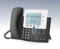 Telefoon met vertoningsvector Royalty-vrije Stock Foto's