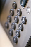 Telefoon numpad Royalty-vrije Stock Afbeeldingen