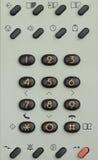 Telefoon op de witte achtergrond Royalty-vrije Stock Fotografie