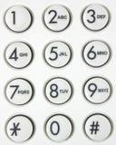 Telefoon touchpad Royalty-vrije Stock Fotografie