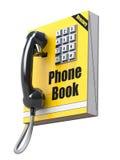 Telefoonboekconcept Royalty-vrije Stock Afbeeldingen