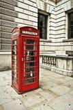 Telefooncel in Londen Royalty-vrije Stock Fotografie