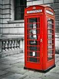 Telefooncel in Londen Stock Fotografie