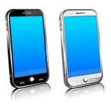 Telefooncel Slimme Mobiele 3D Stock Afbeelding