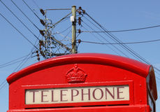 Telefoongesprek Royalty-vrije Stock Foto's
