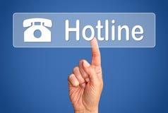 Telefoonhotline Stock Afbeelding
