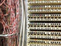 Telefoonkabeldoos Stock Foto's