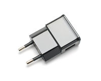Telefoonlader USB Royalty-vrije Stock Afbeeldingen