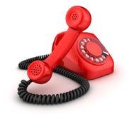 Telefoonrood vector illustratie
