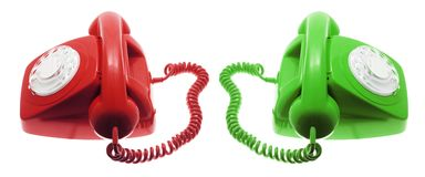 Telefoons Royalty-vrije Stock Foto's