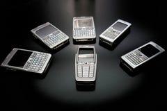 Telefoons royalty-vrije stock fotografie